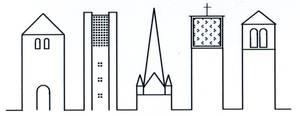 Logo St. Lambertus - fünf Kirchtürme